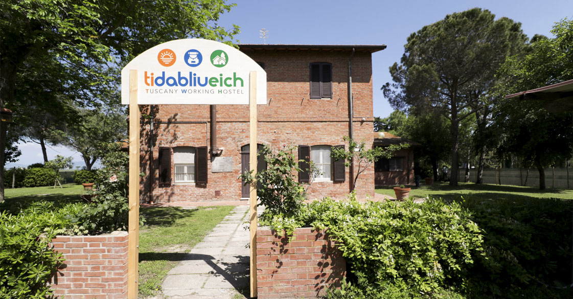 TIDABLIUEICH il primo Working Hostel in Italia